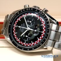Omega Red &White Racing Speedmaster Pro Moonwatch TinTin Dial