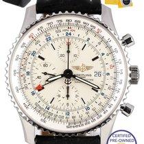 Breitling 2015 Breitling Navitimer World GMT Stainless 46mm...