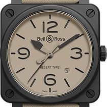 Bell & Ross BR0392-DESERT-CE Ceramic BR 03 42mm new United States of America, Florida, Naples
