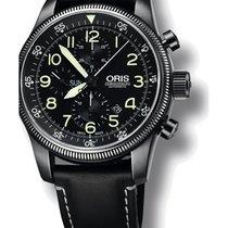 Oris Big Crown Timer Steel 46mm Black Arabic numerals