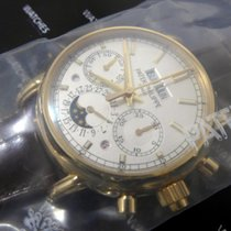 Patek Philippe Perpetual Calendar Chronograph new 2019 Manual winding Watch with original box and original papers 5204R-001