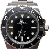 Rolex Submariner Stål 40mm Svart Ingen tall