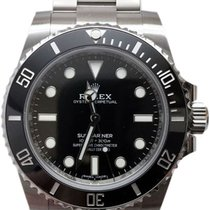 Rolex Submariner Acero 40mm Negro Sin cifras