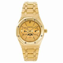 Audemars Piguet Royal Oak Day-Date Yellow gold 36mm Gold United States of America, New York, New York