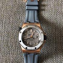 Audemars Piguet Royal Oak Offshore Diver Aur roz 42mm Gri