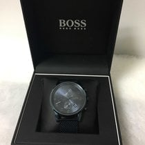 Hugo Boss Steel 44mm Quartz 10500240934 pre-owned