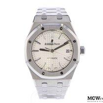 Audemars Piguet Royal Oak Selfwinding Steel 37mm Silver No numerals