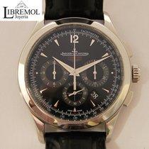 Jaeger-LeCoultre Master Chronograph usados Negro Cuero de cocodrilo