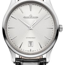 Jaeger-LeCoultre Master Ultra Thin Date Steel 39mm Silver
