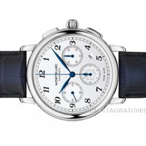 Montblanc Star Steel 42mm Silver Arabic numerals United States of America, Florida, Aventura