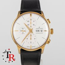Junghans Meister Chronoscope Gold/Steel 41mm White