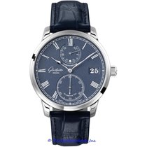 Glashütte Original Senator Chronometer White gold 42mm Blue Roman numerals United States of America, California, Newport Beach