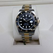 Rolex Two-Tone Submariner Black Dial