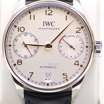 IWC Portugieser Automatik neu 2019 Automatik Uhr mit Original-Box und Original-Papieren Ref. IW500704
