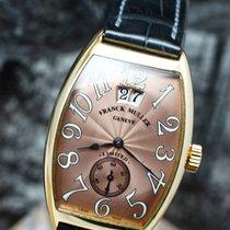 Franck Muller Cintrée Curvex Růžové zlato 42mm Bronzová Arabské