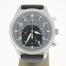 IWC Pilot chronograph Steel Day&Date (B&P2012) 42mm...