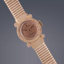 Rolex ladies 18ct rose gold manual Precision watch