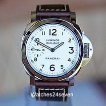 Panerai PAM 602 Luminor Daylight 8 days White Vintage Style...