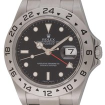롤렉스 (Rolex) : Explorer II :  16570 :  Stainless Steel : black...