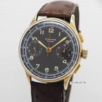 Junghans Chronograph Vintage 20 Mikron vergoldet Cal. 88