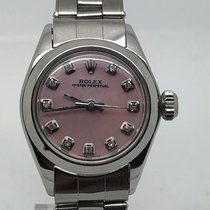 Rolex Oyster Perpetual Lady 26MM AU PINK DIAMOND DIAL