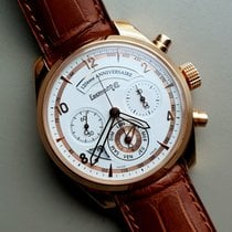 Eberhard & Co. new Automatic Display back Central seconds Small seconds Limited Edition 42mm Rose gold Sapphire crystal