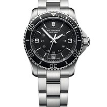 Victorinox Swiss Army Steel 34mm Quartz 241701 new United States of America, New York, New York