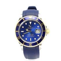 Rolex Submariner Date 16803 Blue 18k/SS 40mm