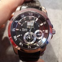 Seiko Kinetic tweedehands Staal