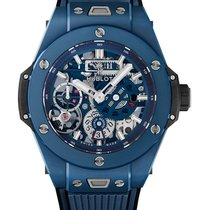 Hublot Big Bang Meca-10 nuevo Cuerda manual Reloj con estuche y documentos originales 414.EX.5123.RX