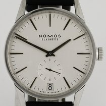 NOMOS Zürich Datum pre-owned 39.8mm Leather