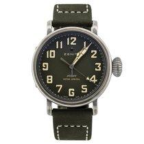 Zenith Pilot Type 20 Extra Special 11.1943.679/63.C800 ZENITH Type 20 Acciaio Verde 40mm nou