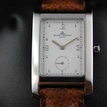 Baume & Mercier 24mm Quartz occasion Hampton Blanc