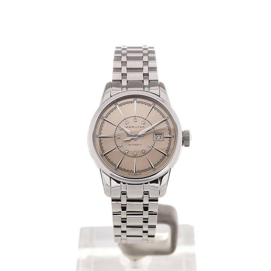 Hamilton Ladies H40405121 American Classic Raileoad Watch