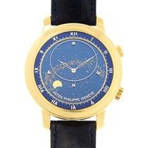 Patek Philippe Celestial Žluté zlato 43mm Modrá
