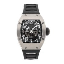 Richard Mille White gold 48mm Automatic RM010 AH WG pre-owned