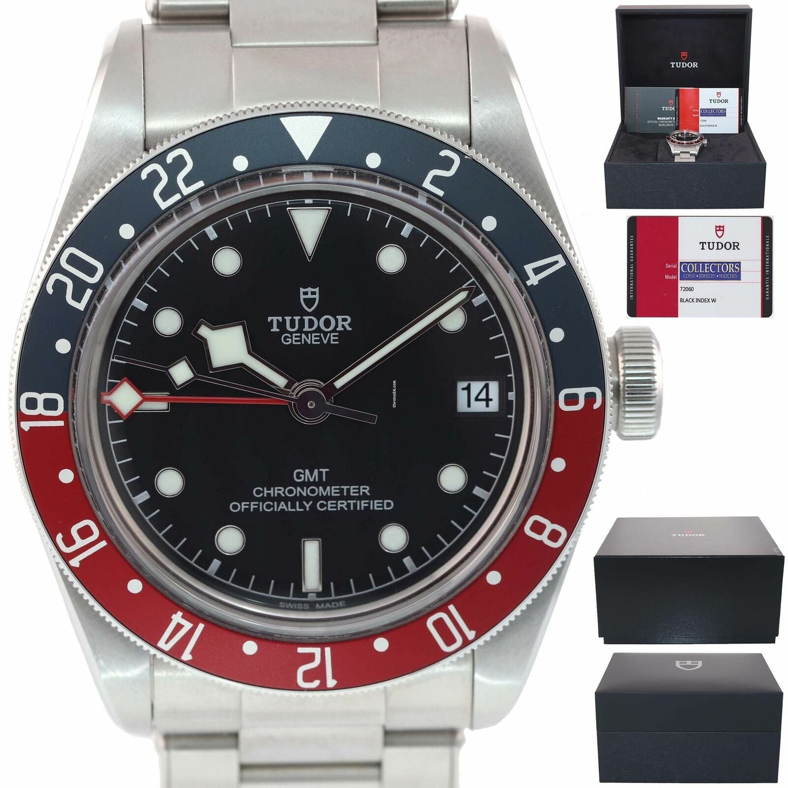 4c880319b34a Tudor 2019 LNIB COMPLETE Black Bay GMT Pepsi 79830RB 41mm... en venta por  4.375 € por parte de un Trusted Seller de Chrono24