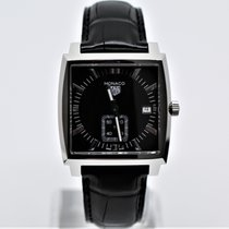 TAG Heuer Monaco Lady Steel 37mm Black No numerals
