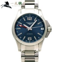 Longines Conquest Steel 40mm Blue United States of America, California, Los Angeles