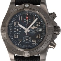 Breitling Avenger Bandit pre-owned 45mm Black Chronograph Date Fold clasp