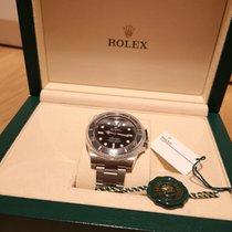 Rolex Submariner (No Date) подержанные Чёрный Сталь