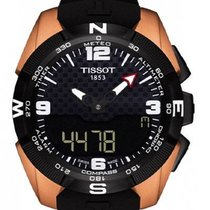 Tissot T-Touch Expert Solar Τιτάνιο 45mm Μαύρο