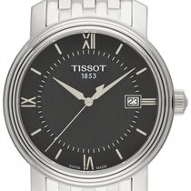 Tissot Bridgeport Zeljezo 40mm Crn
