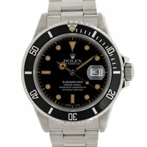 Rolex Submariner Date 168000 1988 pre-owned