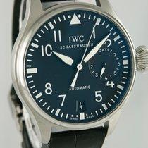 IWC Große Fliegeruhr Stahl 46mm Schwarz Arabisch Deutschland, Heilbronn