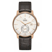Rado Coupole Staal 41mm Champagne Geen cijfers