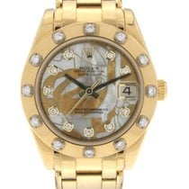 Rolex Pearlmaster 81318 gdd pre-owned