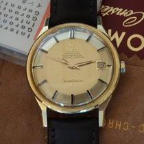 Omega Constellation Pie Pan 1965, 18kt yellowgold, 168005/6