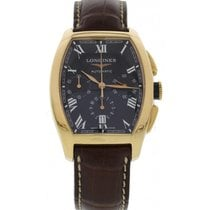 Longines Evidenza 18k Rose Gold Chronograph Automatic L2.643.8