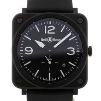Μπελ & Ρος (Bell & Ross) Aviation 39 Quartz Black Dial
